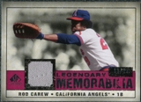 2008 Upper Deck SP Legendary Cuts Legendary Memorabilia Red Parallel #CA Rod Carew /35