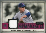 2008 Upper Deck SP Legendary Cuts Legendary Memorabilia Red #NR Nolan Ryan /35
