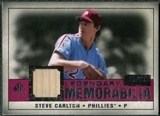 2008 Upper Deck SP Legendary Cuts Legendary Memorabilia Red Parallel #ST Steve Carlton /35