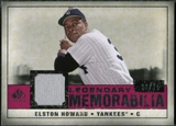 2008 Upper Deck SP Legendary Cuts Legendary Memorabilia Red Parallel #EH Elston Howard /35