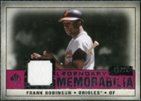 2008 Upper Deck SP Legendary Cuts Legendary Memorabilia Red #FR Frank Robinson /35