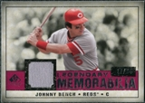 2008 Upper Deck SP Legendary Cuts Legendary Memorabilia Red Parallel #BE Johnny Bench /35