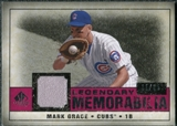 2008 Upper Deck SP Legendary Cuts Legendary Memorabilia Red Parallel #MG Mark Grace /35