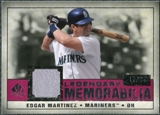 2008 Upper Deck SP Legendary Cuts Legendary Memorabilia Red Parallel #MA Edgar Martinez /35