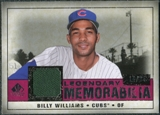 2008 Upper Deck SP Legendary Cuts Legendary Memorabilia Red #BW Billy Williams /35