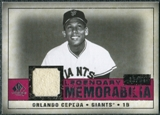 2008 Upper Deck SP Legendary Cuts Legendary Memorabilia Red #OC Orlando Cepeda /35