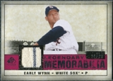 2008 Upper Deck SP Legendary Cuts Legendary Memorabilia Red Parallel #EW Early Wynn /35