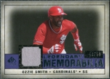 2008 Upper Deck SP Legendary Cuts Legendary Memorabilia Violet Parallel #OS Ozzie Smith /50