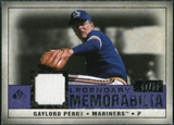 2008 Upper Deck SP Legendary Cuts Legendary Memorabilia Violet Parallel #GP Gaylord Perry /50
