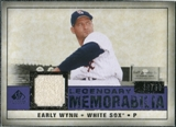 2008 Upper Deck SP Legendary Cuts Legendary Memorabilia Violet Parallel #EW Early Wynn /50