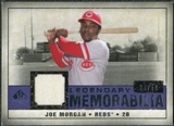 2008 Upper Deck SP Legendary Cuts Legendary Memorabilia Violet #JM Joe Morgan /50