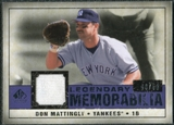 2008 Upper Deck SP Legendary Cuts Legendary Memorabilia Violet Parallel #DM Don Mattingly /50