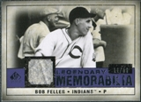 2008 Upper Deck SP Legendary Cuts Legendary Memorabilia Violet Parallel #BF Bob Feller /50