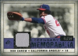 2008 Upper Deck SP Legendary Cuts Legendary Memorabilia Violet #CA Rod Carew /50