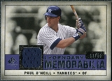 2008 Upper Deck SP Legendary Cuts Legendary Memorabilia Violet #PO Paul O'Neill /50