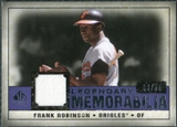 2008 Upper Deck SP Legendary Cuts Legendary Memorabilia Violet Parallel #FR Frank Robinson /50
