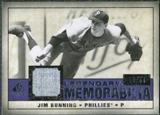 2008 Upper Deck SP Legendary Cuts Legendary Memorabilia Violet #JB Jim Bunning /50