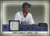 2008 Upper Deck SP Legendary Cuts Legendary Memorabilia Violet #EB Ernie Banks /50