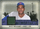 2008 Upper Deck SP Legendary Cuts Legendary Memorabilia Violet #BW Billy Williams /50