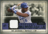 2008 Upper Deck SP Legendary Cuts Legendary Memorabilia Violet #BJ Bo Jackson /50