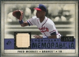2008 Upper Deck SP Legendary Cuts Legendary Memorabilia Violet #FM Fred McGriff /50