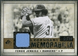 2008 Upper Deck SP Legendary Cuts Legendary Memorabilia #FJ Fergie Jenkins /99