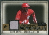 2008 Upper Deck SP Legendary Cuts Legendary Memorabilia #OS Ozzie Smith /99