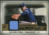 2008 Upper Deck SP Legendary Cuts Legendary Memorabilia #GP Gaylord Perry /99