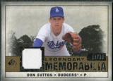 2008 Upper Deck SP Legendary Cuts Legendary Memorabilia #DS Don Sutton /99