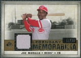 2008 Upper Deck SP Legendary Cuts Legendary Memorabilia #JM Joe Morgan /99