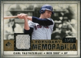 2008 Upper Deck SP Legendary Cuts Legendary Memorabilia #CY Carl Yastrzemski /99