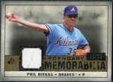 2008 Upper Deck SP Legendary Cuts Legendary Memorabilia #PN Phil Niekro /99