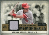 2008 Upper Deck SP Legendary Cuts Legendary Memorabilia #BE Johnny Bench /99