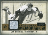 2008 Upper Deck SP Legendary Cuts Legendary Memorabilia #JB Jim Bunning /99