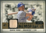 2008 Upper Deck SP Legendary Cuts Legendary Memorabilia #RY Robin Yount /99