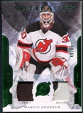 2011/12 Upper Deck Artifacts Jerseys Patch Emerald #59 Martin Brodeur 48/65