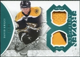 2011/12 Upper Deck Artifacts Frozen Artifacts Jerseys Patches Emerald #FAKR David Krejci 13/35
