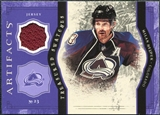 2011/12 Upper Deck Artifacts Treasured Swatches Purple #TSMH Milan Hejduk