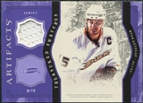 2011/12 Upper Deck Artifacts Treasured Swatches Purple #TSRG Ryan Getzlaf