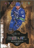 2011/12 Upper Deck Artifacts Spectrum #124 Henrik Sedin Star /25