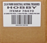 2013/14 Panini National Treasures Basketball Hobby 3-Box Case (PLUS 1 Box of Momentum Basketball!)