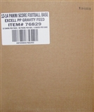 2013 Score Football Retail 48-Pack 6-Box Case