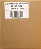 2013-14 Score Hockey Jumbo 12-Box Case