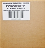 2013/14 Panini Select Basketball Hobby 12-Box Case