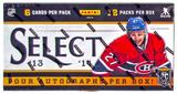 2013-14 Panini Select Hockey Hobby 12-Box Case - DACW Live 30 Team Random Case Break #2