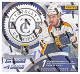 2013-14 Panini Totally Certified Hockey Hobby 12-Box Case - DACW Live @ National 30 Spot Random Team Break