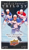 2013/14 Upper Deck Trilogy Hockey Hobby Mini-Box