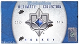 2013-14 Upper Deck Ultimate Collection Hockey Case - DACW Live 28 Spot Random Team Break #5