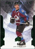2011/12 Upper Deck Artifacts Emerald #100 Joe Sakic /99