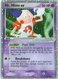 Pokemon Fire Red Leaf Green Single Mr. Mime ex 110/112